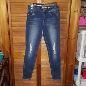 YMI Distressed Skinny Jeans